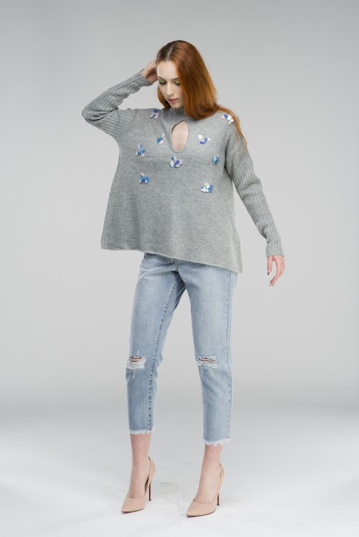SEQUIN SWING JUMPER - Image 4