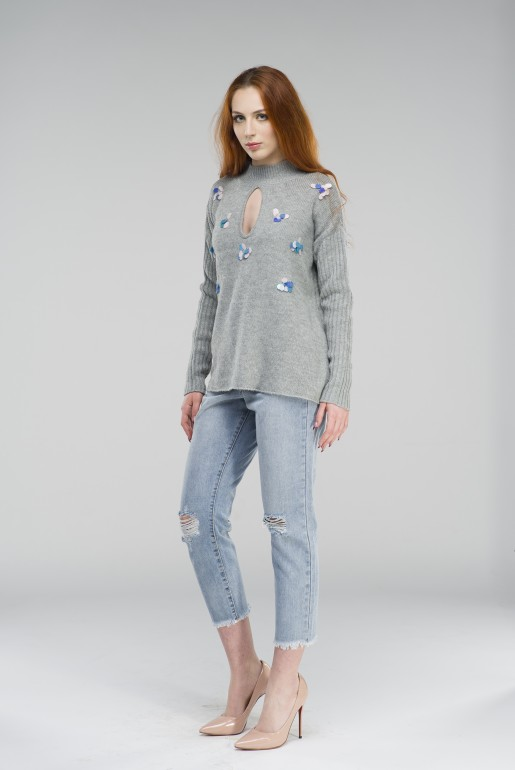 SEQUIN SWING JUMPER