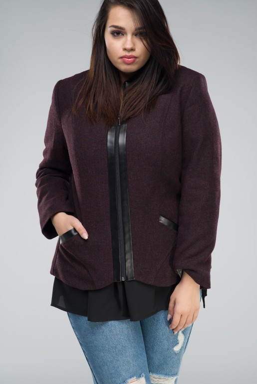 JACKET WITH WOOL ULA I