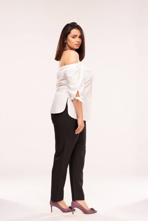 BARDOT TOP WITH TIES - Image 2