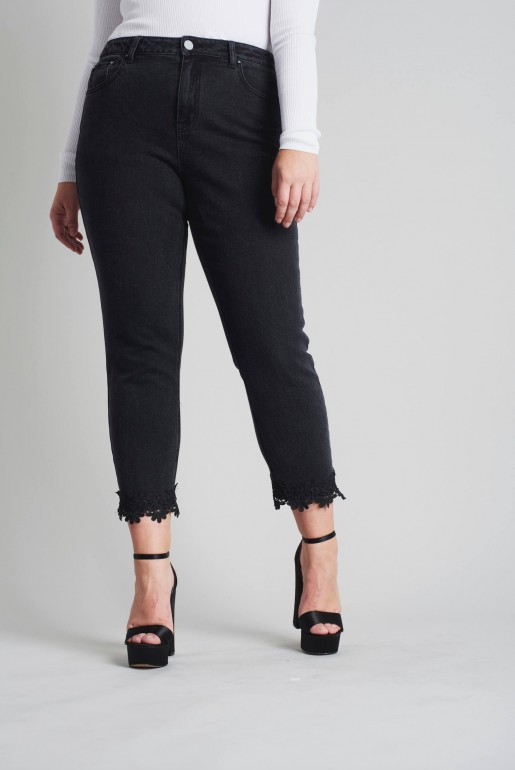 PULL ON JEGGING IN BLACK - Image 5