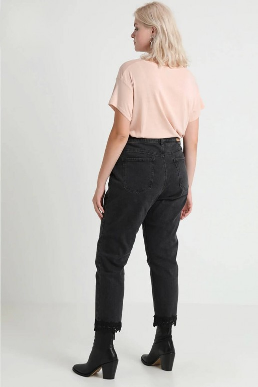 PULL ON JEGGING IN BLACK - Image 3