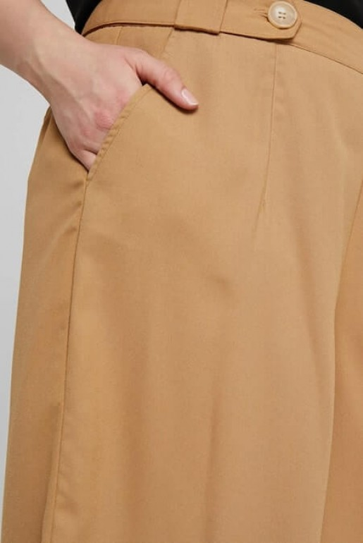 CROP TROUSER WITH BUTTON - Image 4