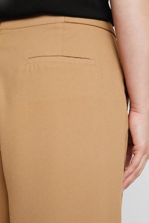CROP TROUSER WITH BUTTON - Image 5
