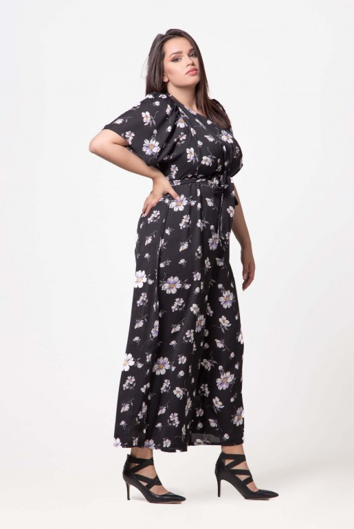 JUMPSUIT IN WOVEN PRINTED FLORAL - Image 3