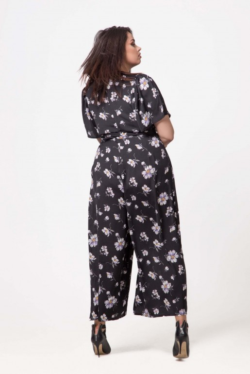 JUMPSUIT IN WOVEN PRINTED FLORAL - Image 4