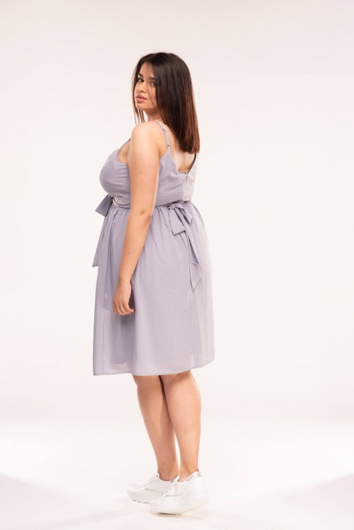 CAMI DRESS WITH TIE SIDE - Image 3