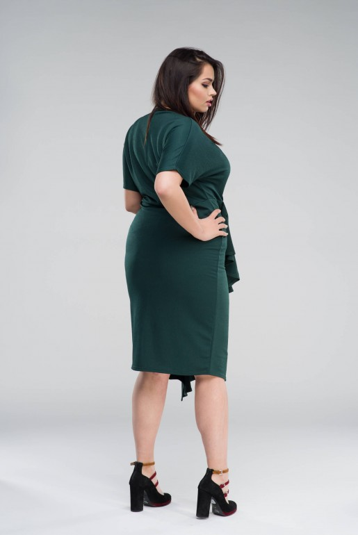 BODYCON DRESS WITH FRILL - Image 5