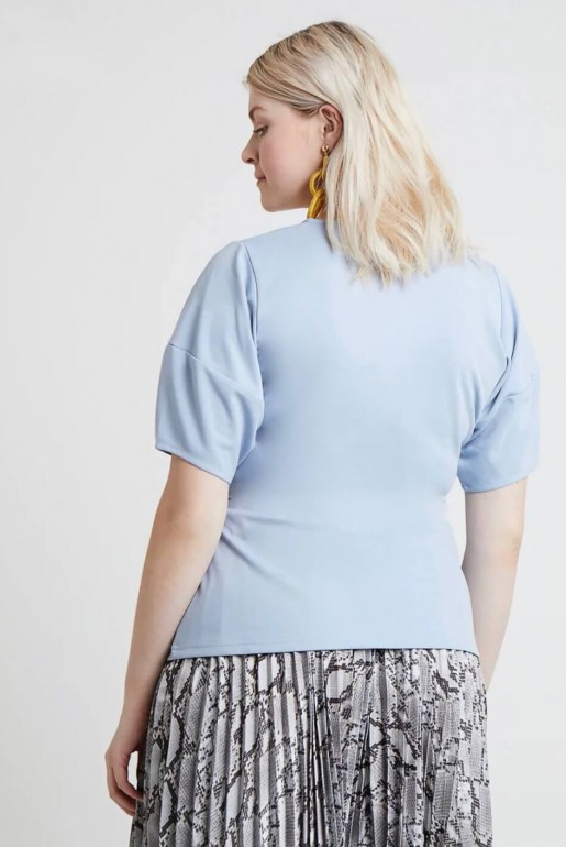 WRAP TOP WITH BUCKLE - Image 4