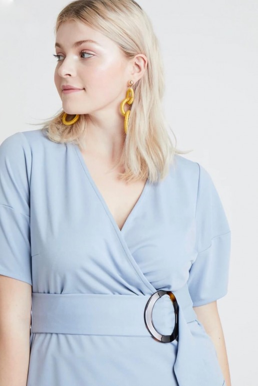 WRAP TOP WITH BUCKLE - Image 3