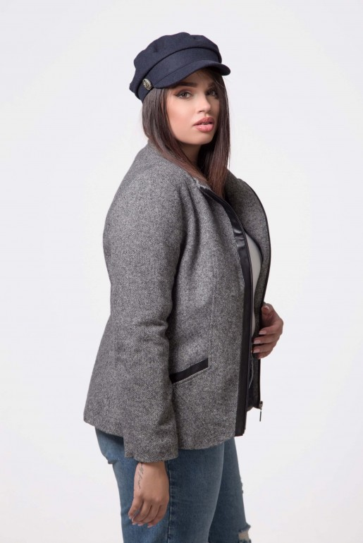 JACKET WITH WOOL ULA II