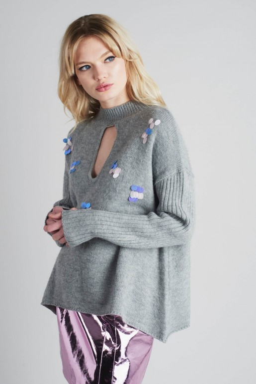 SEQUIN SWING JUMPER - Image 2