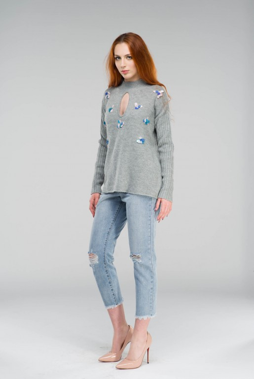 SEQUIN SWING JUMPER - Image 3