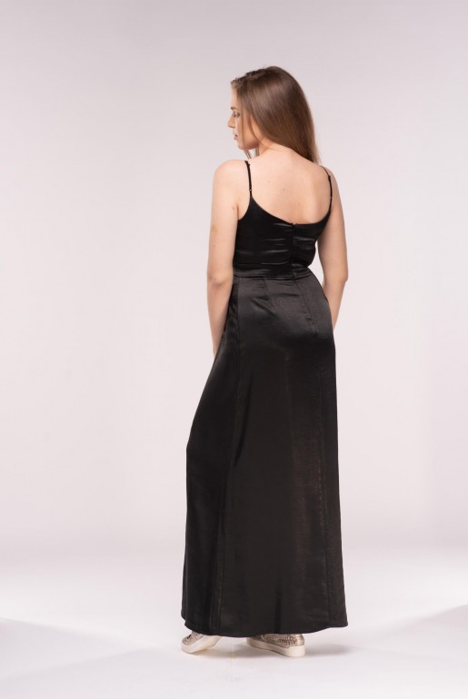 LARGE SEQUIN BELTED MAXI DRESS - Image 4