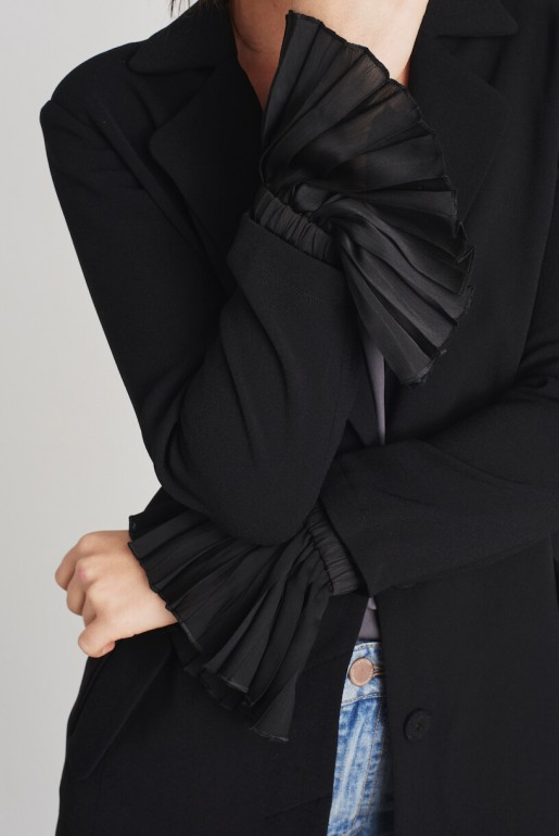 PLEAT SLEEVE DUSTER