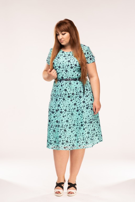 Dress Tina Turquoise