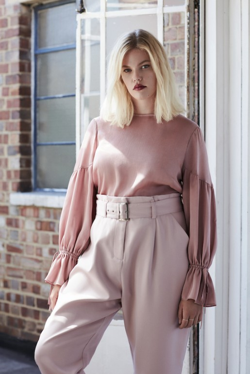 PEG TROUSER WITH BELT
