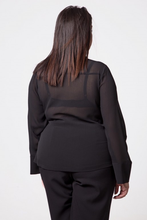 WRAP TOP WITH TIE DETAIL - Image 4