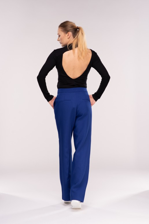 SNAP FRONT TROUSERS - Image 6