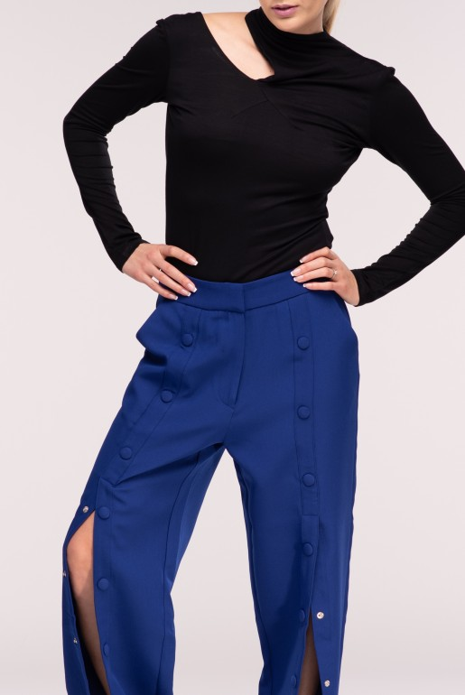 SNAP FRONT TROUSERS - Image 4