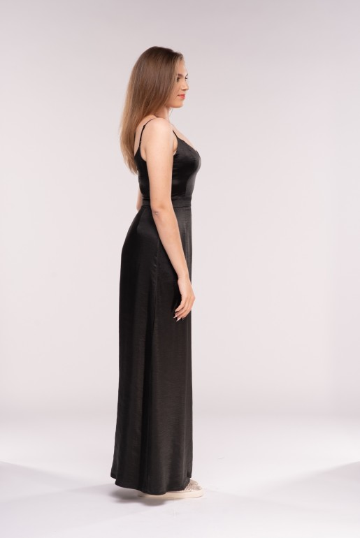LARGE SEQUIN BELTED MAXI DRESS - Image 3